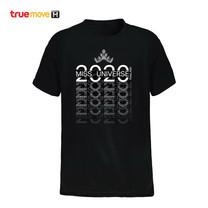 [Pre Order] เสื้อ T-Shirt คอกลม แขนสั้น สกรีนโลโก้ Miss Universe และ True 5G