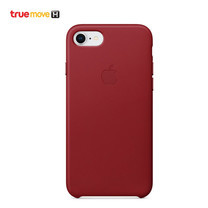 Leather Case for iPhone 8 /7 - สีแดง