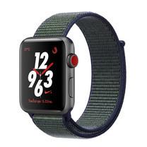 Apple Watch Nike+ Series 3 (รุ่น GPS + Cellular) ตัวเรือนอะลูมิเนียม สีเทาสเปซเกรย์ พร้อมสาย Nike Sport Loop สี Midnight Fog 38 มม.