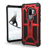 UAG MONARCH Series Galaxy S9+ - Crimson