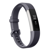 Fitbit Alta HR - Blue/Gray (Large)