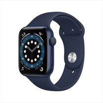 Apple Watch Series 6 GPS 44mm Blue Aluminum Case with Sport Band - Deep Navy