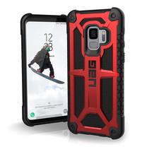 UAG MONARCH Series Galaxy S9 - Crimson