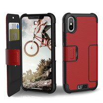 UAG METROPOLIS Case for iPhone X - Magma