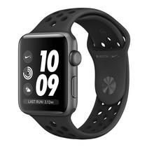 Apple Watch Nike+ (รุ่น GPS) ตัวเรือนอะลูมิเนียม สีเทาสเปซเกรย์ พร้อมสาย Nike Sport Band สี Anthracite/Black 42 มม.
