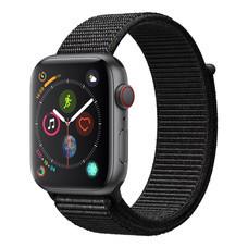 AppleWatch Series4 GPS+Cellular, 44mm Space Grey Aluminium Case with Black Sport Loop
