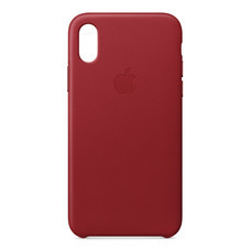 Leather Case for iPhone X - (PRODUCT)RED