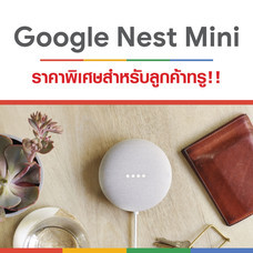 Google Nest Mini สำหรับลูกค้าทรู