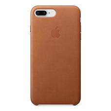 Leather Case for iPhone 8 Plus /7 Plus - สีน้ำตาลอานม้า