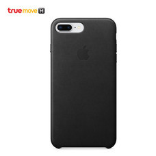 Leather Case for iPhone 8 Plus / 7 Plus - สีดำ