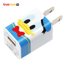 อะแดปเตอร์ชาร์จไฟ Disney iCharger USB Adapter - Donald Duck