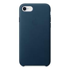 Leather Case for iPhone 8 /7 - สีคอสมอสบลู