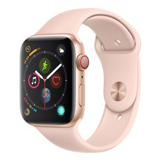 AppleWatch Series4 GPS+Cellular, 44mm Gold Aluminium Case with Pink Sand Sport Band