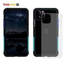 Telephant เคสกันกระแทกสำหรับ iPhone 11 Pro Max รุ่น NMDer - Black Blue