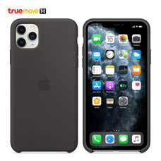 iPhone 11 Pro Max Silicone Case - Black