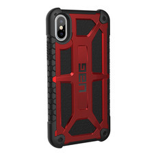 UAG MONARCH Case for iPhone X - Crimsom