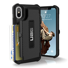 UAG TROOPER Case for iPhone X - Black