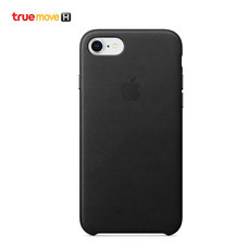 Leather Case for iPhone 8 /7 - สีดำ