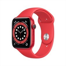 Apple Watch Series 6 GPS 44mm PRODUCT(RED) Aluminum Case with Sport Band - PRODUCT(RED)