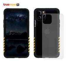 Telephant เคสกันกระแทกสำหรับ iPhone 11 Pro Max รุ่น Industial - Black Yellow