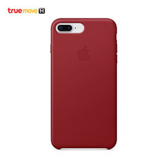 Leather Case for iPhone 8 Plus /7 Plus - สีแดง