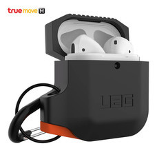 UAG SILICONE CASE FOR APPLE AIRPODS - BLACK / ORANGE