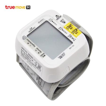 Dretec เครื่องวัดความดันโลหิตข้อมือ (Wrist Type Blood Pressure Manometer, BM 100)