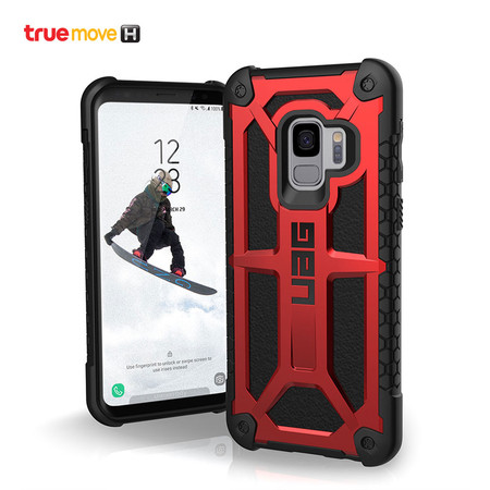 UAG MONARCH Series Galaxy S9 - Crimson
