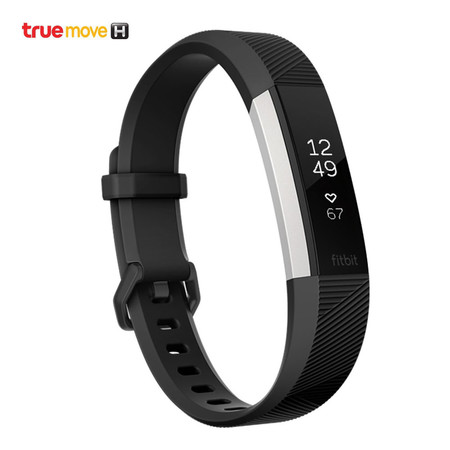 Fitbit Alta HR - Black (Large).