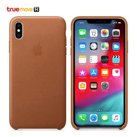 เคส iPhone XS Max LEAT CASE MRWV2FE/A - Brown