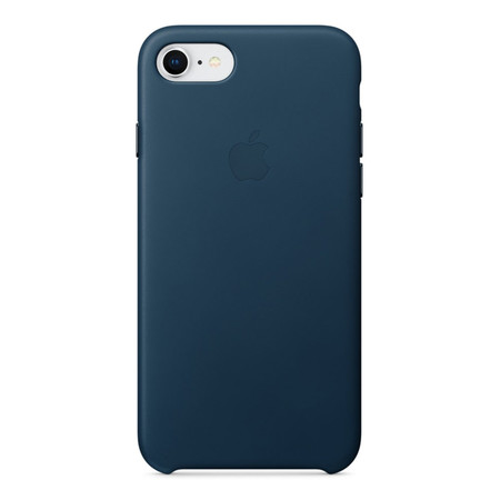 Leather Case for iPhone 8 /7 - สีคอสมอสบลู