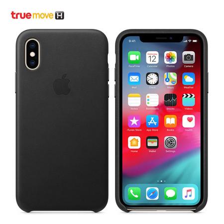เคส iPhone XS LEAT CASE MRWM2FE/A - Black