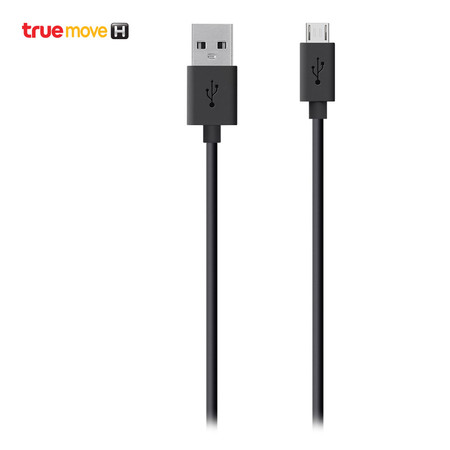 สายชาร์จ Belkin Tangle Free Micro USB ChargeSync Cable - Black