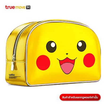 กระเป๋าเล็กลายโปเกมอน - พิคาชู (Yellow)