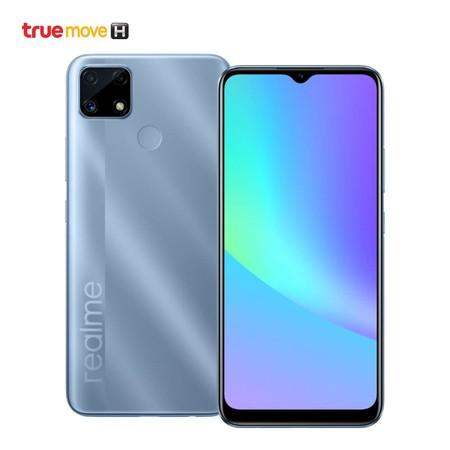 Realme C25 (รองรับเฉพาะเครือข่าย TrueMove H และเครื่องจะถูกล็อคหากค้างชำระค่าบริการ)
