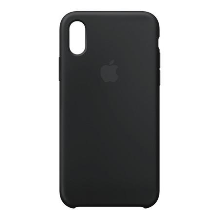iPhone X Silicone Case - สีดำ