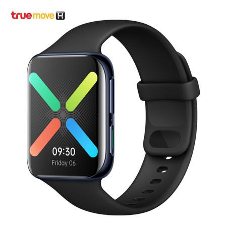 OPPO Watch 46 mm. นาฬิกาอัจฉริยะ WiFi (สีดำ)