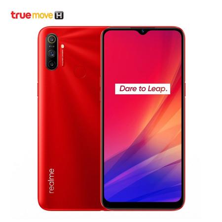 Realme C3 (Ram 2GB / Rom 32GB) รองรับเฉพาะซิมเครือข่าย TrueMove H - Red