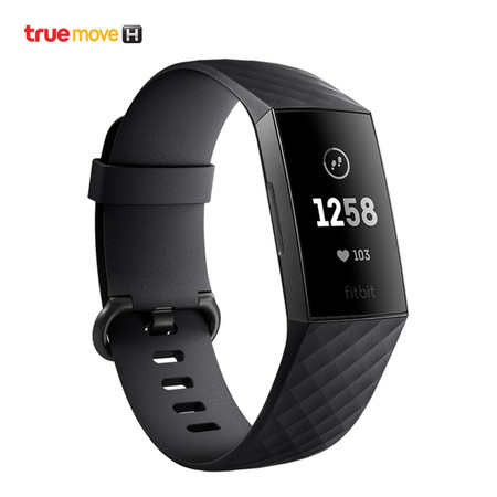 FITBIT CHARGE 3 - GRAPHITE BLACK