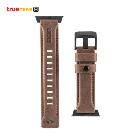 UAG LEATHER WATCH STRAP FOR APPLE WATCH 40/38 - Brown