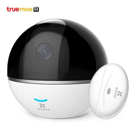 กล้องวงจรปิด EZVIZ C6T MINI 360 PLUS 1080P WiI-Fi + เซนเซอร์ตรวจจับการเปิด/ปิด EZVIZ T2