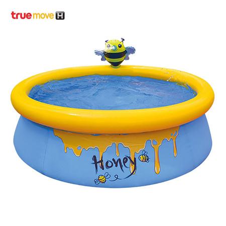 สระว่ายน้ำเป่าลมสำหรับเด็ก ความจุ 100 ลิตร