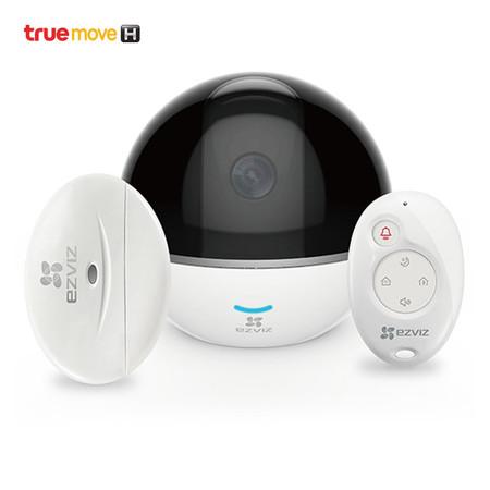 กล้องวงจรปิด Ezviz รุ่น C6T RF Edition Mini360 Plus 1080P Wi-Fi PT Camera With RF