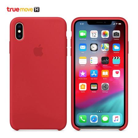เคส iPhone XS Max SILIC CASE RD MRWH2FE/A