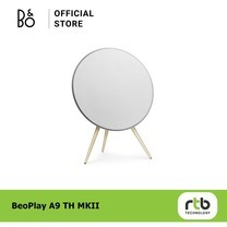 B&O Beoplay A9 4.G Speaker WIFI Oak Legs GVA - White