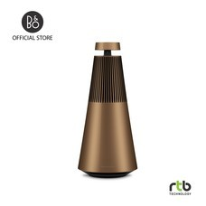 B&O ลำโพง รุ่น Beosound 2 Portable Wireless Speaker with Voice Assistant - Bronze Tone