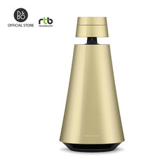 B&O ลำโพง รุ่น Beosound 1 GVA Portable Wireless Speaker Multiroom with Voice Assistant - Brass Tone