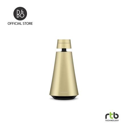 B&O ลำโพง รุ่น Beosound 1 GVA Portable Wireless Speaker Multiroom with Voice Assistant - Brass Tone