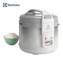 Electrolux หม้อหุงข้าว 1.8 ลิตร รุ่น ERC3305 (White Silver)