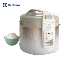 Electrolux หม้อหุงข้าว 1.8 ลิตร รุ่น ERC3405 (White Brown)